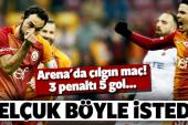 Galatasaray bol gollü maçta kazanmayı bildi