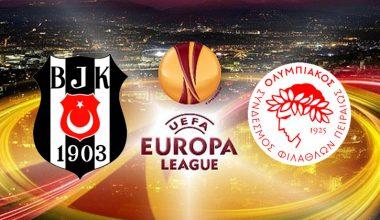 Beşiktaş Olympiakos'u yenerek çeyrek finale çıktı