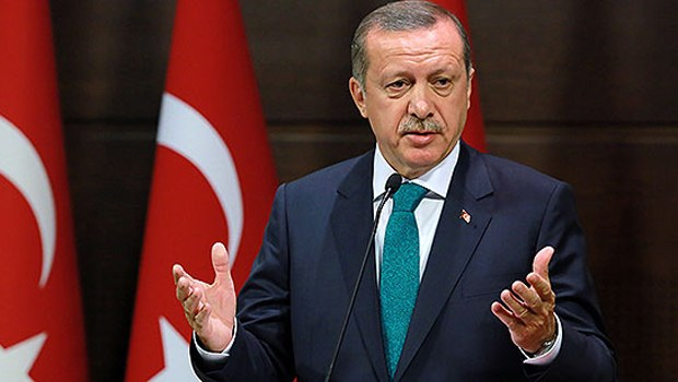 Erdoğan Türkiye Finlandiya maçını izledi