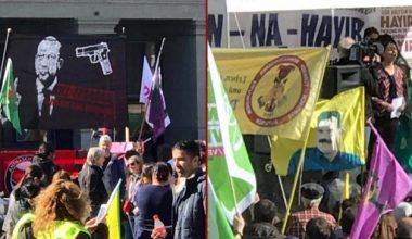 İsviçre'de açılan pankarta yönelik soruşturma