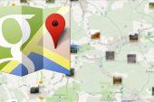 Google Haritalar uygulamasını güncelliyor