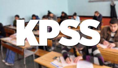 Kpss 2017 başvuruları başladı