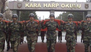 Milli Savunma Üniversitesi Harp Okullarına başvurular yarın