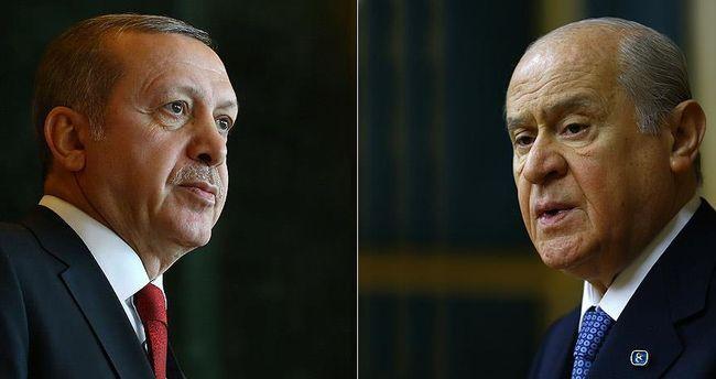 Bahçeli sordu Erdoğan dolambaçlı yanıtladı