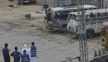 Lahor'da patlama meydana geldi
