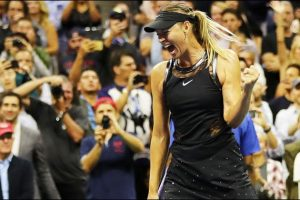 Sharapova Grand Slam'ı Kazandı