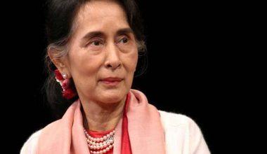 Myanmar'ın Suu Kyi, Rohingya krizi sırasında BM gezisini noktaladı
