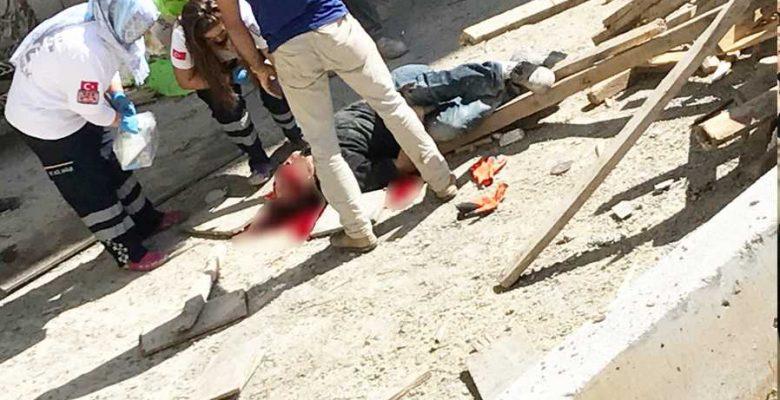 21 yaşındaki işçi 7.kattan düştü