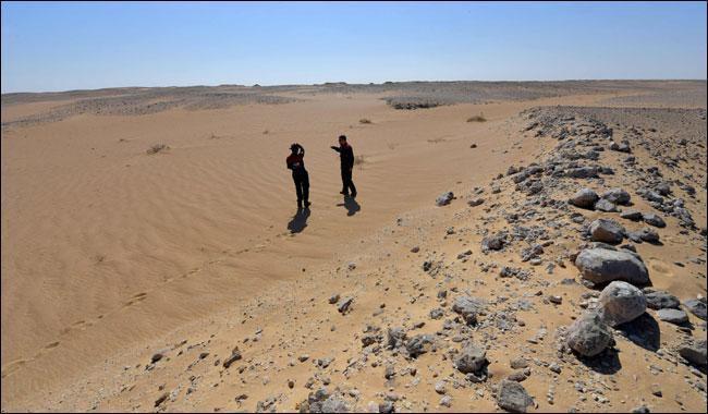 Umman'ın çölünde, Mars'ta yaşama açılan bir kapı
