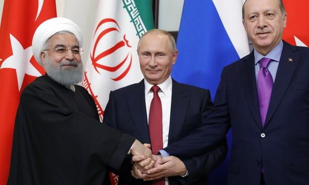 Putin, İran'ı ve Türkiye'yi cesur Suriye barış planında bir araya getirdi