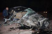 Kaza yapan cipin hız ibresi 160 kilometrede takılı kaldı