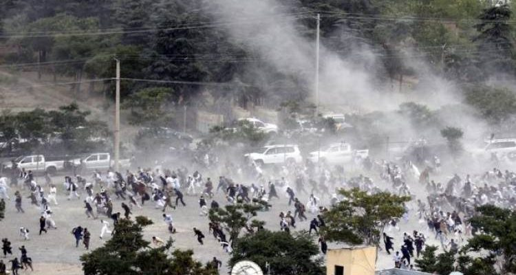 Afganistan'da Cenazesinde Patlama 18 Ölü…