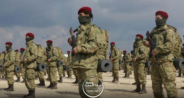Özgür Suriye Ordusu Afrin'e 600 Asker Gönderiyor