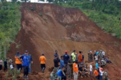 Endonezya'daki heyelan