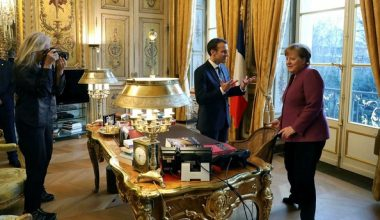 Merkel, Ticaret Savaşının Tehlikelerinden Bahsetti