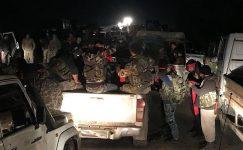 Özgür Suriye Ordusu güçleri Afrin şehir merkezinin kontrolünü ele geçirdi