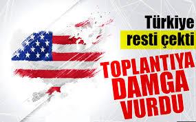 ABD-Türkiye ilişkilerini düzeltilmesi için ilk toplantı sona erdi
