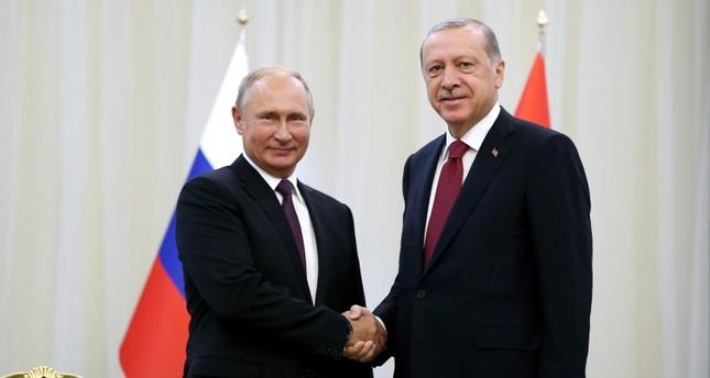 Erdoğan, Suriye'deki İdlib'deki durumu görüşmek üzere Rusya'da Putin'le buluşacak