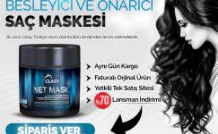 Clasy Net Mask İle Güçlü Saçlar