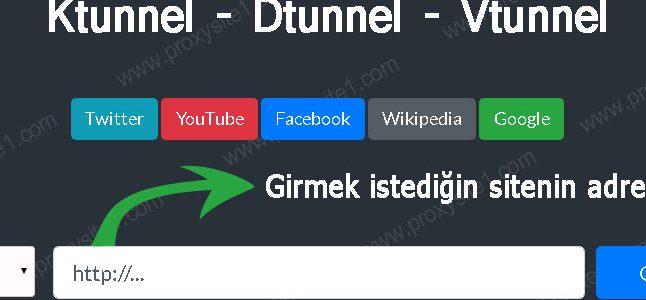 Ücretsiz Ktunnel Proxy Sitesi