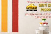 Yeni Sur inşaat makine alçı sıva dekorasyon Sektörde KALİTESİ YÜKSEK PROJELER!