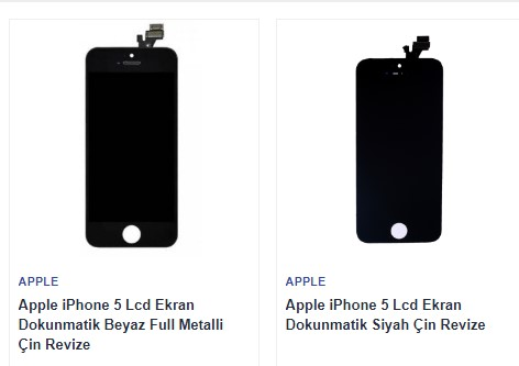 İphone 5 Ekran