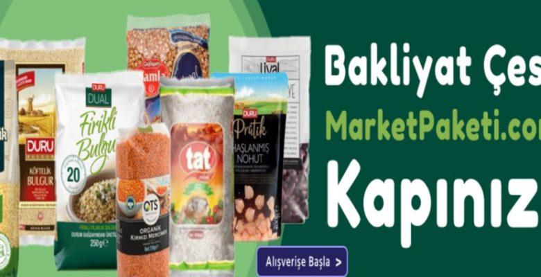 Kaliteli Market Ürünleri İçin Market Paketi