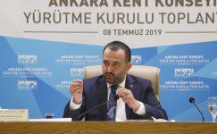 Ankara Kent Konseyi Yürütme Kurulu Başkanı Halil İbrahim Yılmaz'dan 1 Mayıs Mesajı