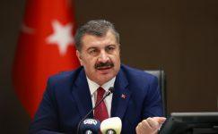 Türkiye, COVID-19 güncellemesinde 17 ölüm ve 1.186 yeni vaka bildirdi.