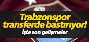 Trabzonspor transferde bastırıyor