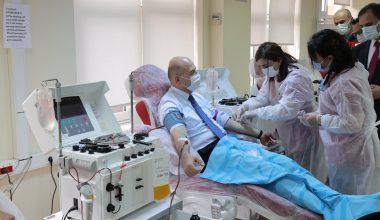 İçişleri Bakanı Soylu Plazma Bağışladı
