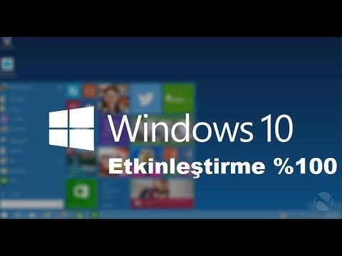 Windows 10 Etkinleştirme Programı